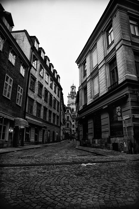 The Right Way Stockholm Print by Stylianos Kleanthous