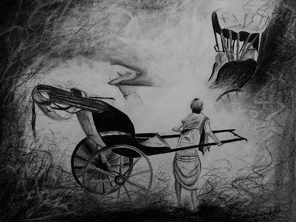 Shankhadeep Bhattacharya - The Rikshaw Puller