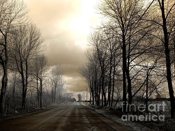 The Road Print by Elfriede Fulda