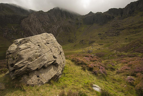 The Rock Print by John Hallett