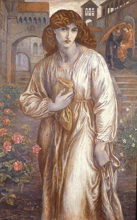 The Salutation  Print by Dante Charles Gabriel Rossetti