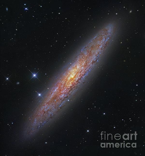 The Sculptor Galaxy, Ngc 253 Print by Robert Gendler