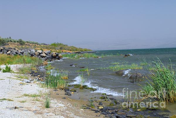 The Sea Of Galilee Print by Eva Kaufman