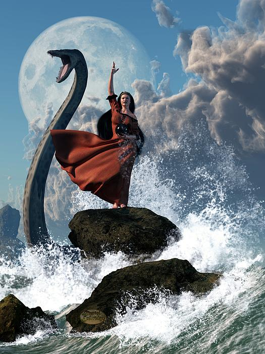 The Sea Witch Print by Daniel Eskridge