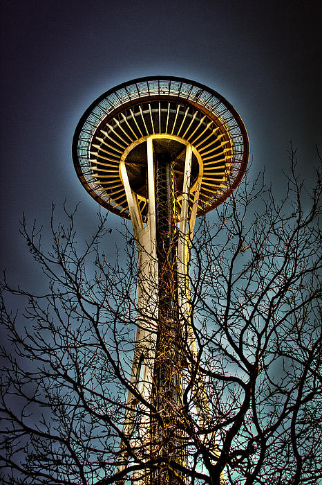 The Seattle Space Needle IV Photograph