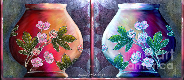 Rosy Hall - The Shadow Box Diptych