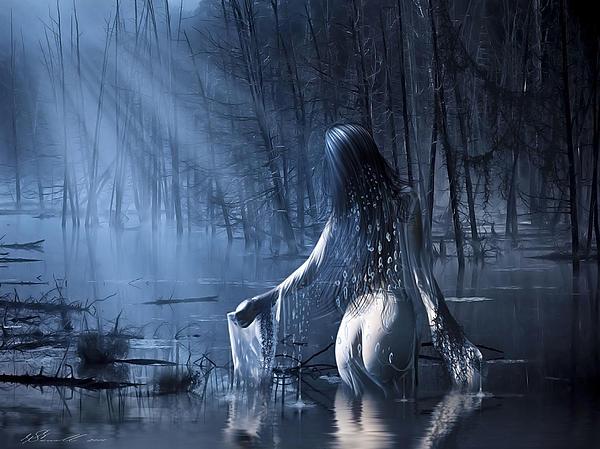 The Siren Print by Svetlana Sewell