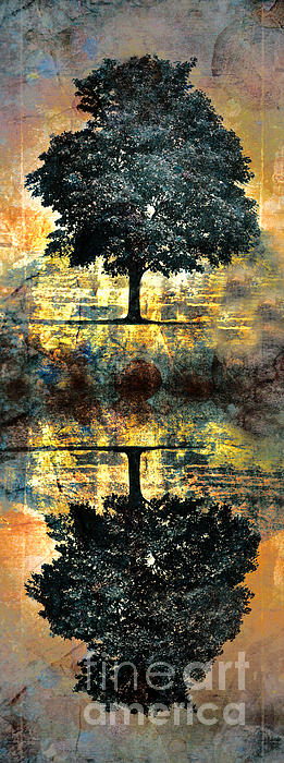 The Small Dreams Of Trees Print by Tara Turner