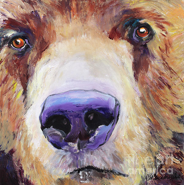 The Sniffer Print by Pat Saunders-White