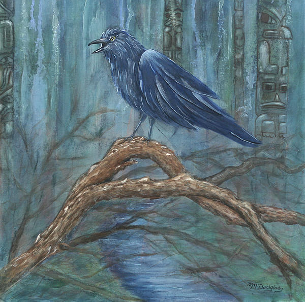 The Spirit Of Trickster Print by Melodie Douglas