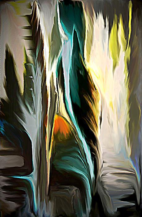 The Spiritual Gathering Print by Sherri  Of Palm Springs