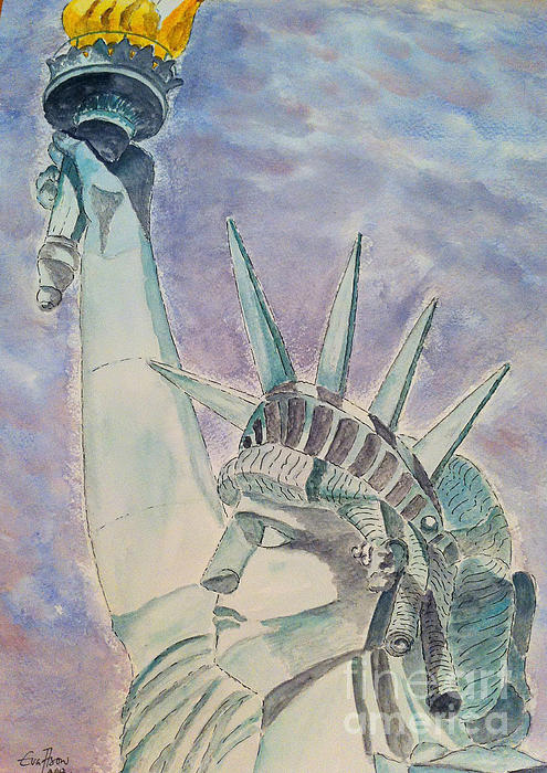 Eva Ason - The Statue of Liberty