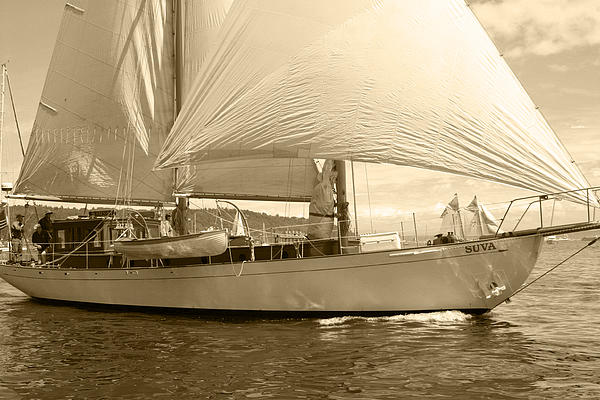 Kym Backland - The Suva in Sepia