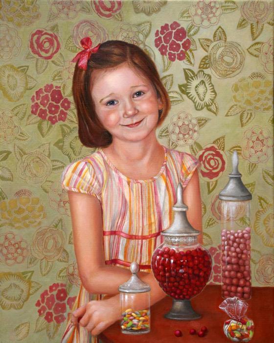 The Sweet Sneak Print by Enzie Shahmiri