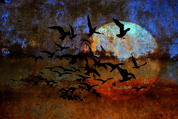 The Texture Of Our Dreams Print by Ron Jones