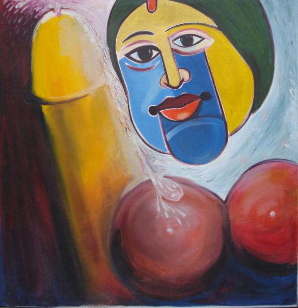 The True Satisfaction Painting by Narayan - The True Satisfaction ...