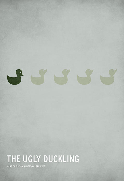 The Ugly Duckling Print by Christian Jackson