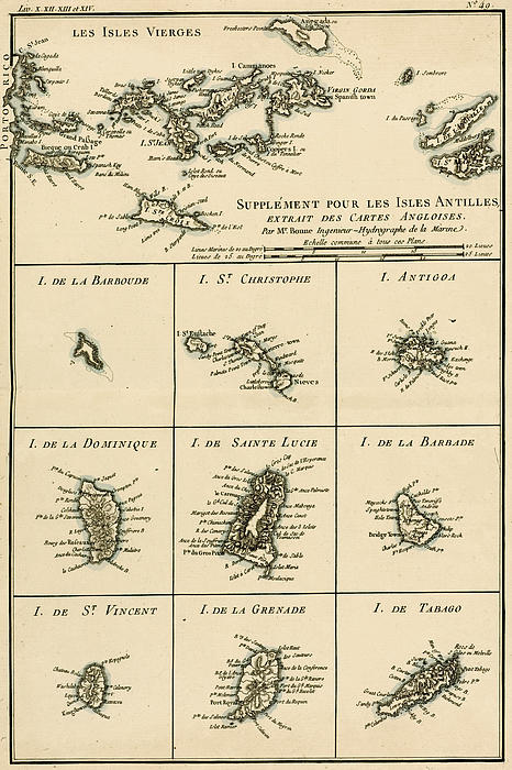 The Virgin Islands Print by Guillaume Raynal