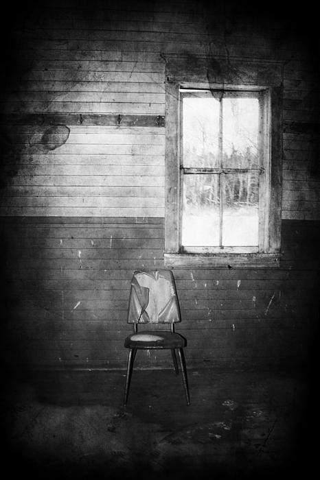 The Wallflowers Seat Print by Jerry Cordeiro