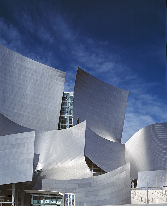 The Walt Disney Concert Hall, By Frank Print by Everett