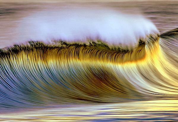 The Wave Print by Zarija Pavikevik