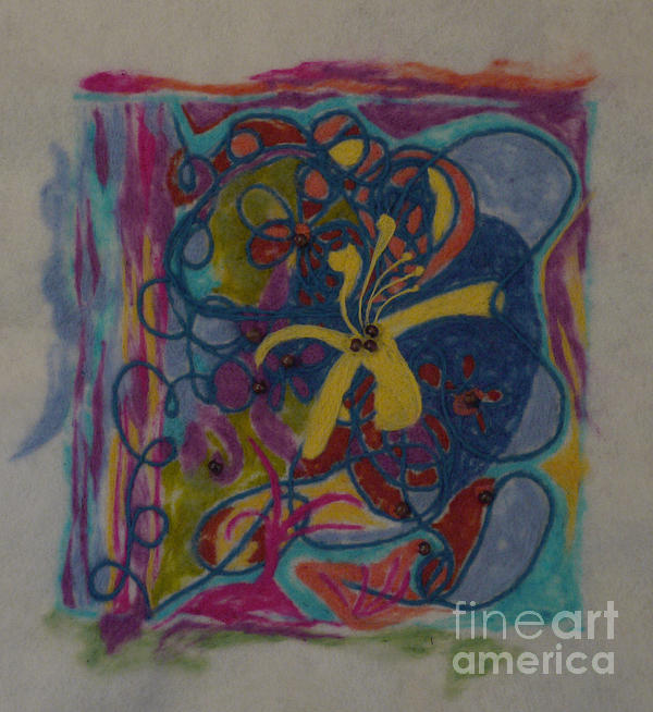 The Way Of The World Print by Heather Hennick