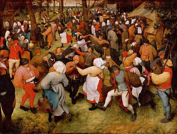 The Wedding Dance Print by Pieter the Elder Bruegel