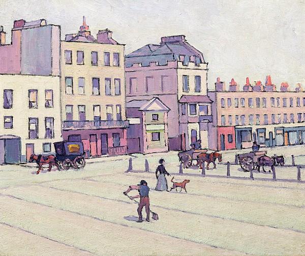 The Weigh House - Cumberland Market Print by Robert Polhill Bevan
