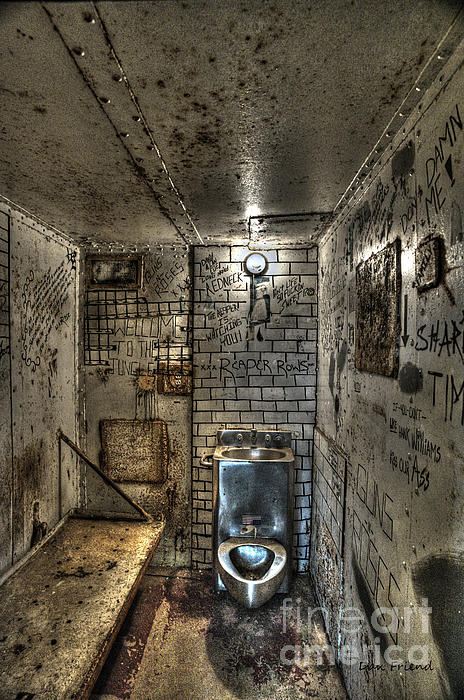 The West Virginia State Penitentiary Cell Print by Dan Friend