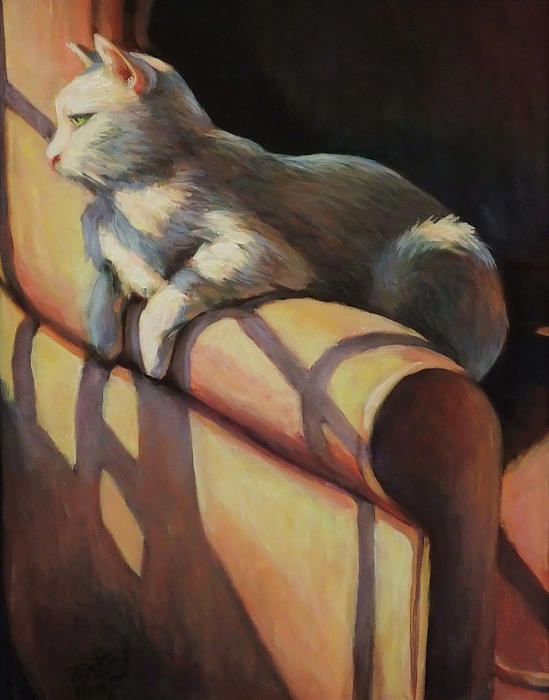 Gretchen Ten Eyck Hunt - The Window Seat