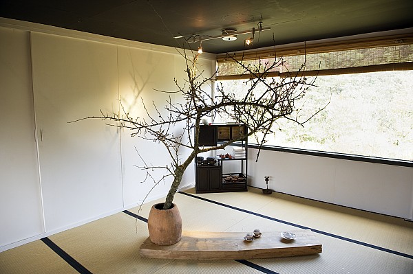 The Zen Like Interior Of A Tea House By Justin Guariglia