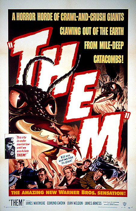 Them 1954, Poster Art Print by Everett