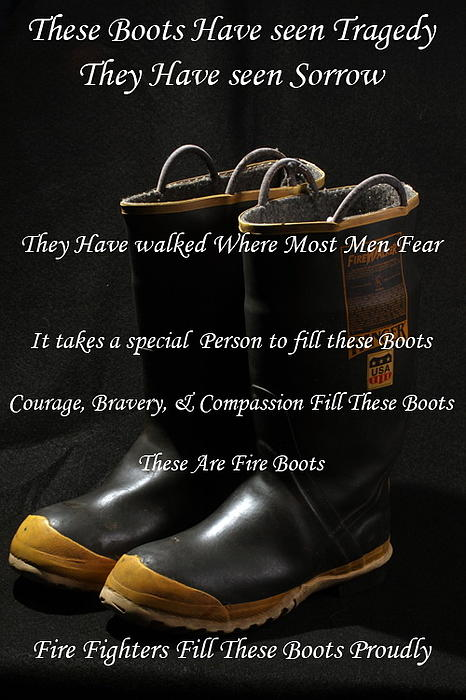 These Boots ... Print by Ken  Tucker