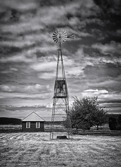 This Is Washington State No. 12 - The American Windmill Print by Paul W Sharpe Aka Wizard of Wonders