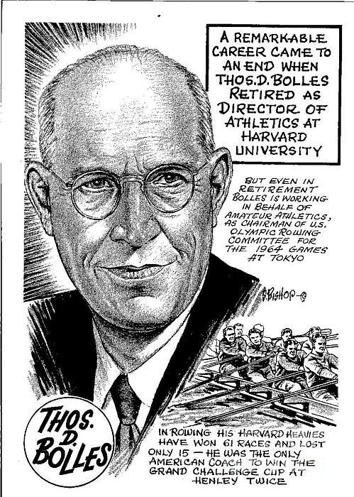 Thomas D. Bolles Print by Steve Bishop