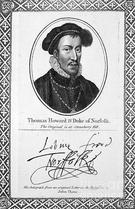 Thomas Howard (1536-1572) Print by Granger