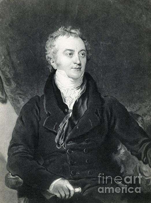 Thomas Young, English Polymath Print by Photo Researchers