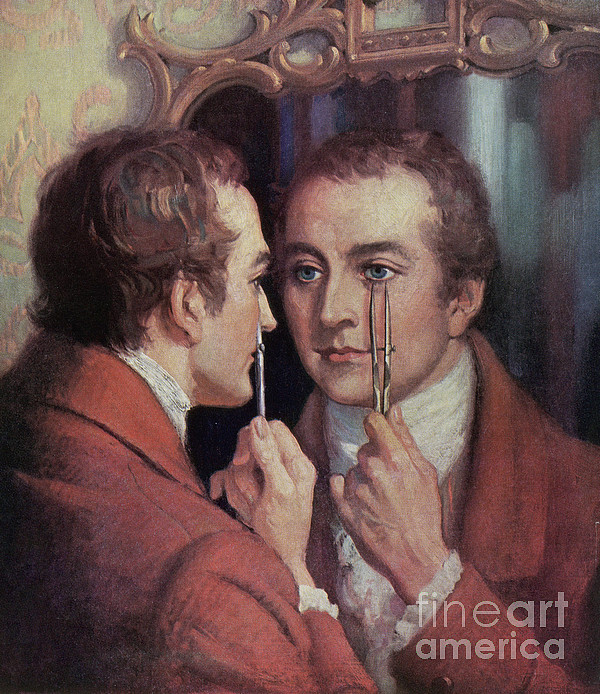 Thomas Young, English Polymath Print by Science Source
