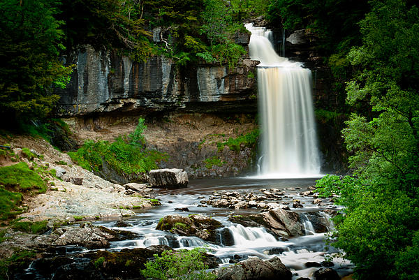 Thornton Force Waterfall 2 Print by Andy Comber
