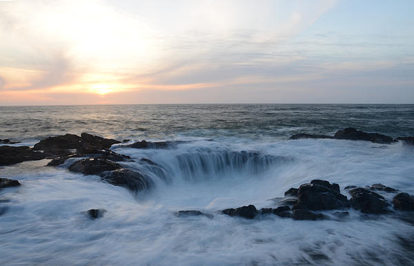 Thor's Well Print by Craig Ratcliffe