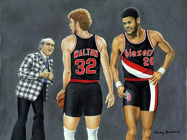 Three Champs Print by Henry Frison