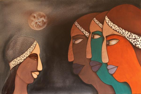 Shivram Raghuvanshi - Three women