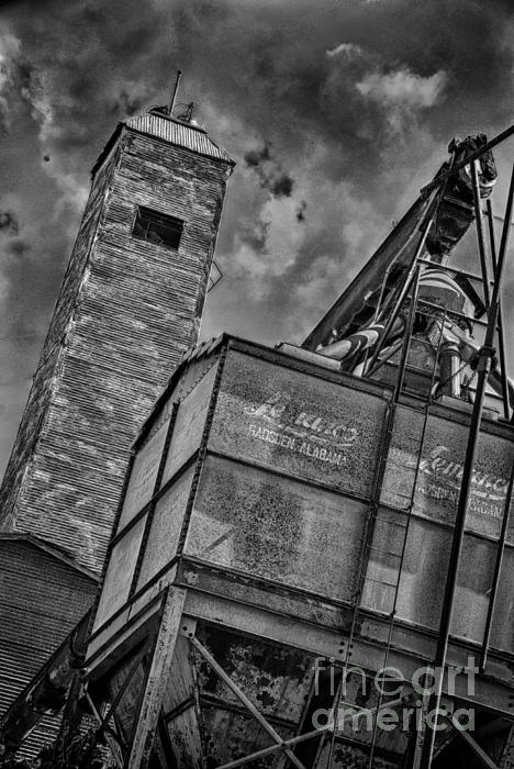 Through The Mill Bw Print by Ken Williams