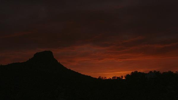 Ramie Liddle - Thumb Butte Red Sky