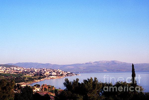 Tiberias Sea Of Galilee Israel Print by Thomas R Fletcher