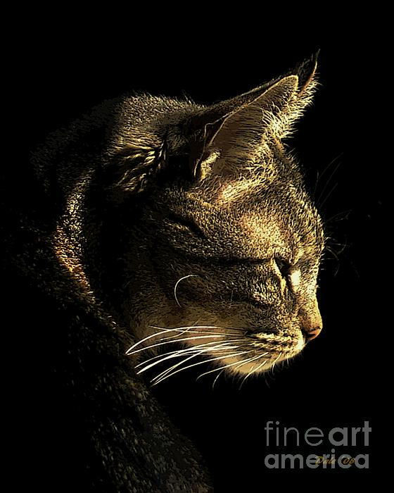 Tiger Within Print by Dale   Ford