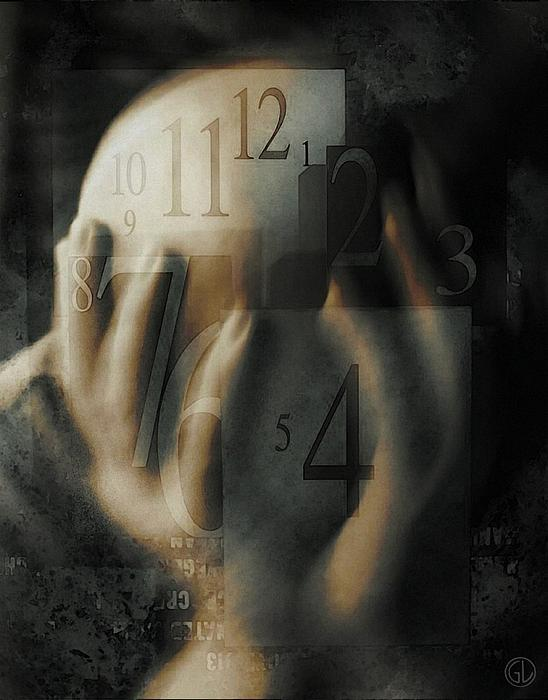 Time Confusion Print by Gun Legler