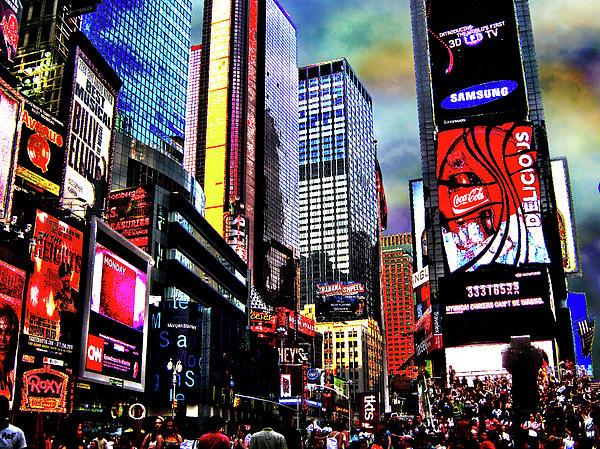 Times Square Print by Menucha Citron