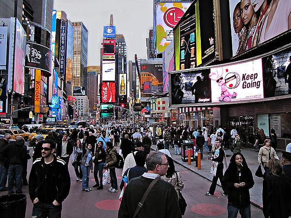 David Dehner - Times Square New York