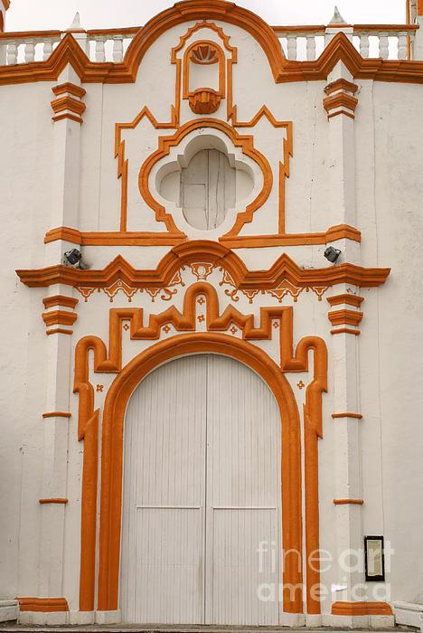 Tlacotalpan Church Veracruz Mexico Print by John  Mitchell